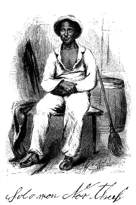 Solomon Northup portrait from his book Twelve Years a Slave